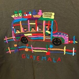 Tops - Guatemala tee, t-shirt, chicken bus